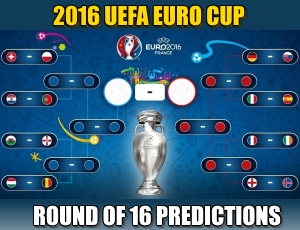 2016 UEFA Round of 16 Predictions and Odds