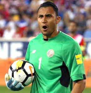 Costa Rica World Cup 2018 keylor navas