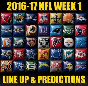 NFL Week 1 Line Up and Predictions