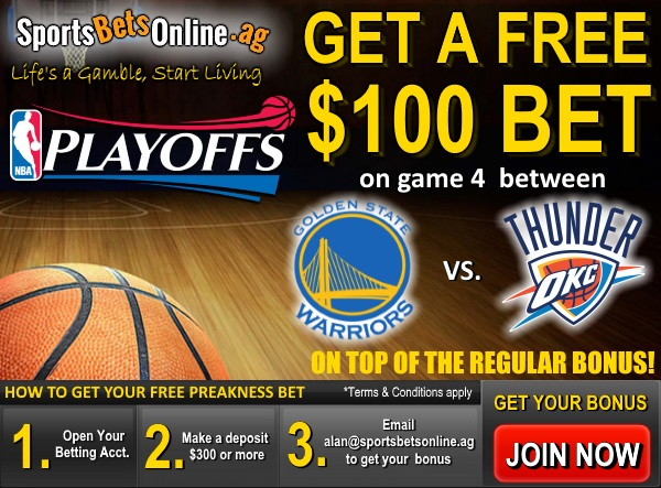 Get a Free $100 Bet on the NBA Playoffs